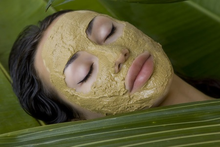 green tea chai shy facial