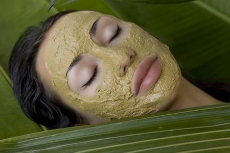 green tea chai shy facial